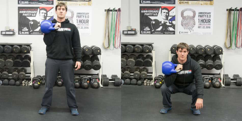 KettleBell Squats You Need To Do - Boise Kettlebell